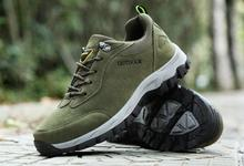 2019 Men Winter Hiking Shoes Cowhide Breathable Climbing Autumn Water Aqua Outdoor Travel