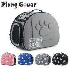 猫柄ブルー犬キャリアバッグポータブル猫ハンドバッグ折りたたみ旅行バッグ子犬キャリングショルダーペットバッグ