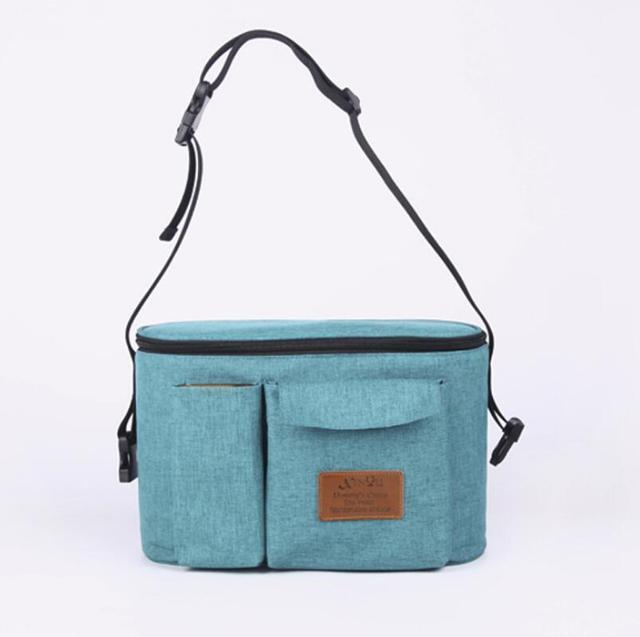 2018 Large Capacity Baby Stroller Bag Storage Organizer Mom Travel Hanging Carriage Pram Mummy Diaper Bags Stroller Accessories