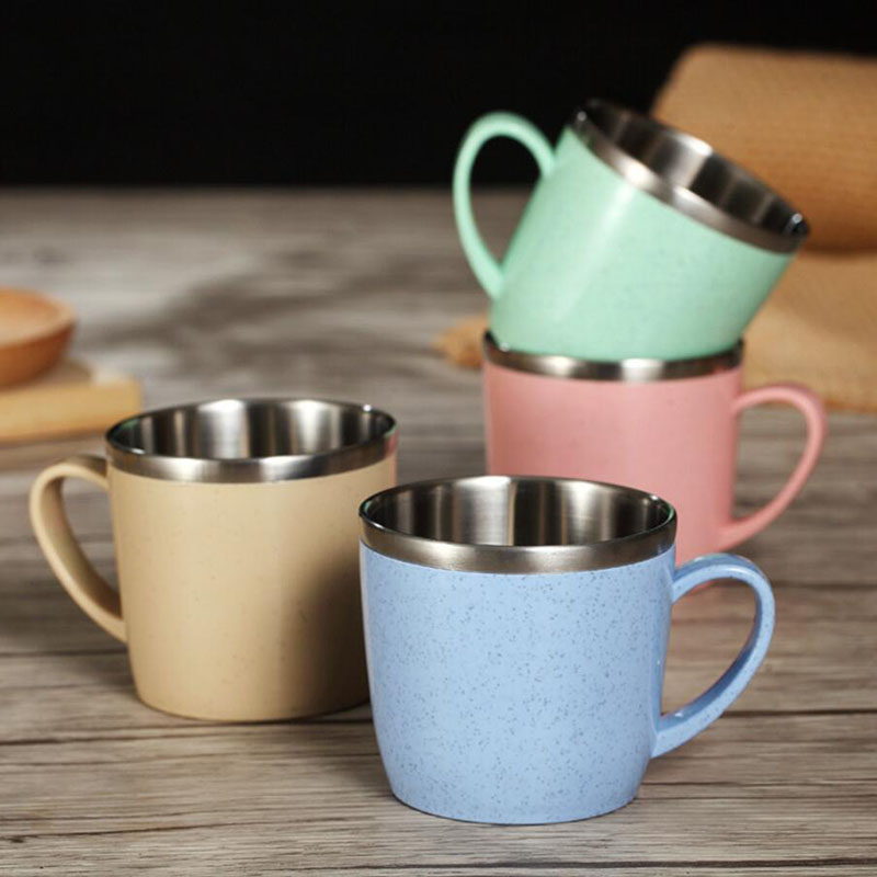 Korean children 304 stainless steel cup cup The hot environmental protection household koubei children drink the cup Кубок