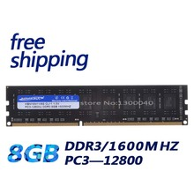DDR3 1600 МГц 8 ГБ PC12800 8 ГБ (для всех материнских плат) Новый Рабочего Память Ram для Рабочего Память RAM/Бесплатная Доставка!
