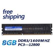 KEMBONA DDR3 1600MHz 8GB PC12800 8GB (dla wszystkich płyt głównych) Brand New pulpit pamięci ram dla pamięci ram pulpitu darmowa wysyłka!!!