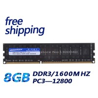 KEMBONA DDR3 1600MHz 8GB PC12800 8GB (for all motherboard) Brand New Desktop Ram Memory for Desktop RAM Memory Free Shipping!!!