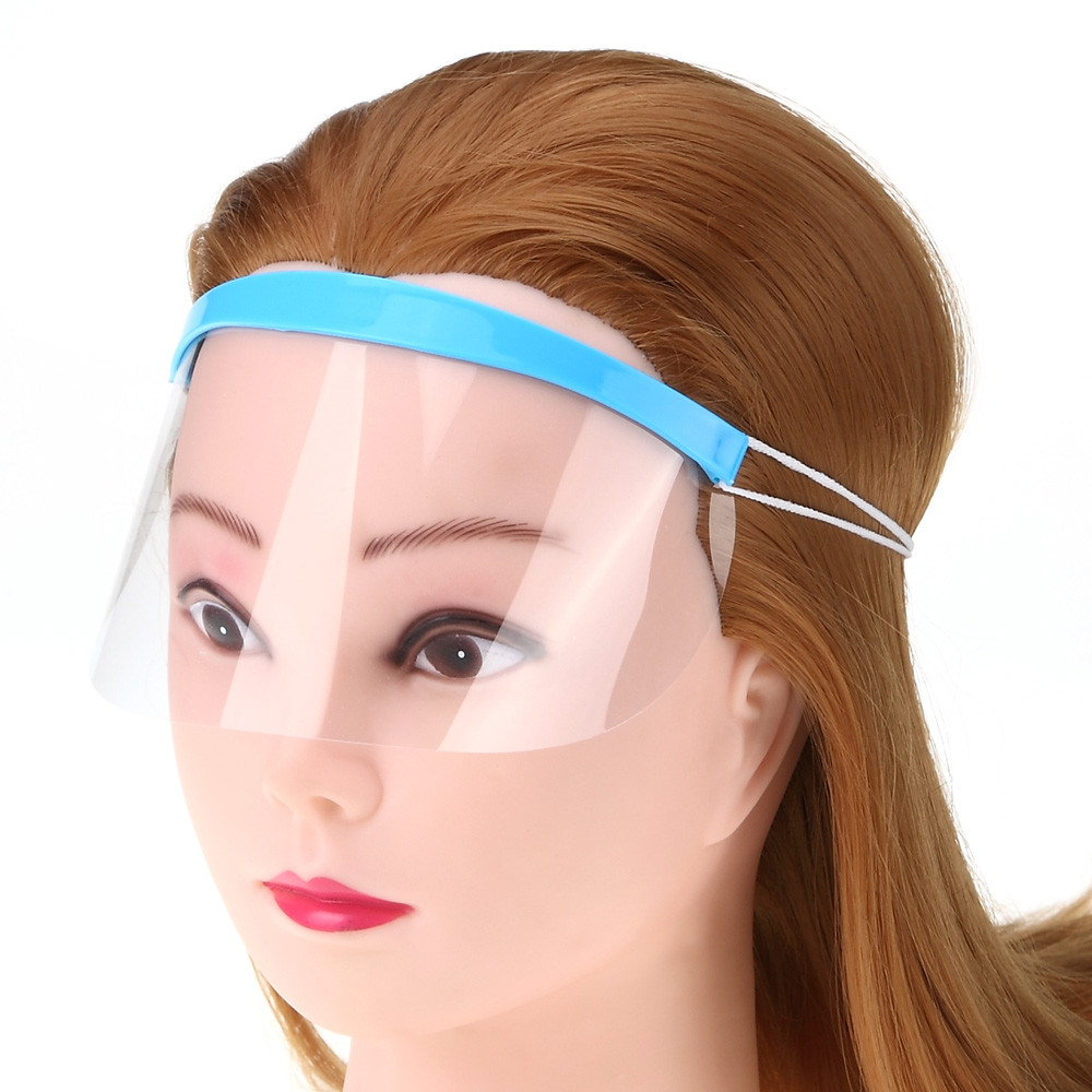 Styling Accessories 50pcs Disposable Hair Salon Plastic Hairspray Mask Shield Eyes Face Protector Easy To Lubricate