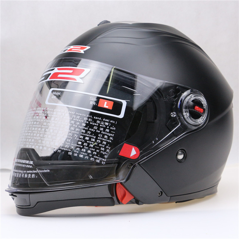 Double Lens Motorcycle font b Helmet b font LS2 modular motorcycle font b helmet b font