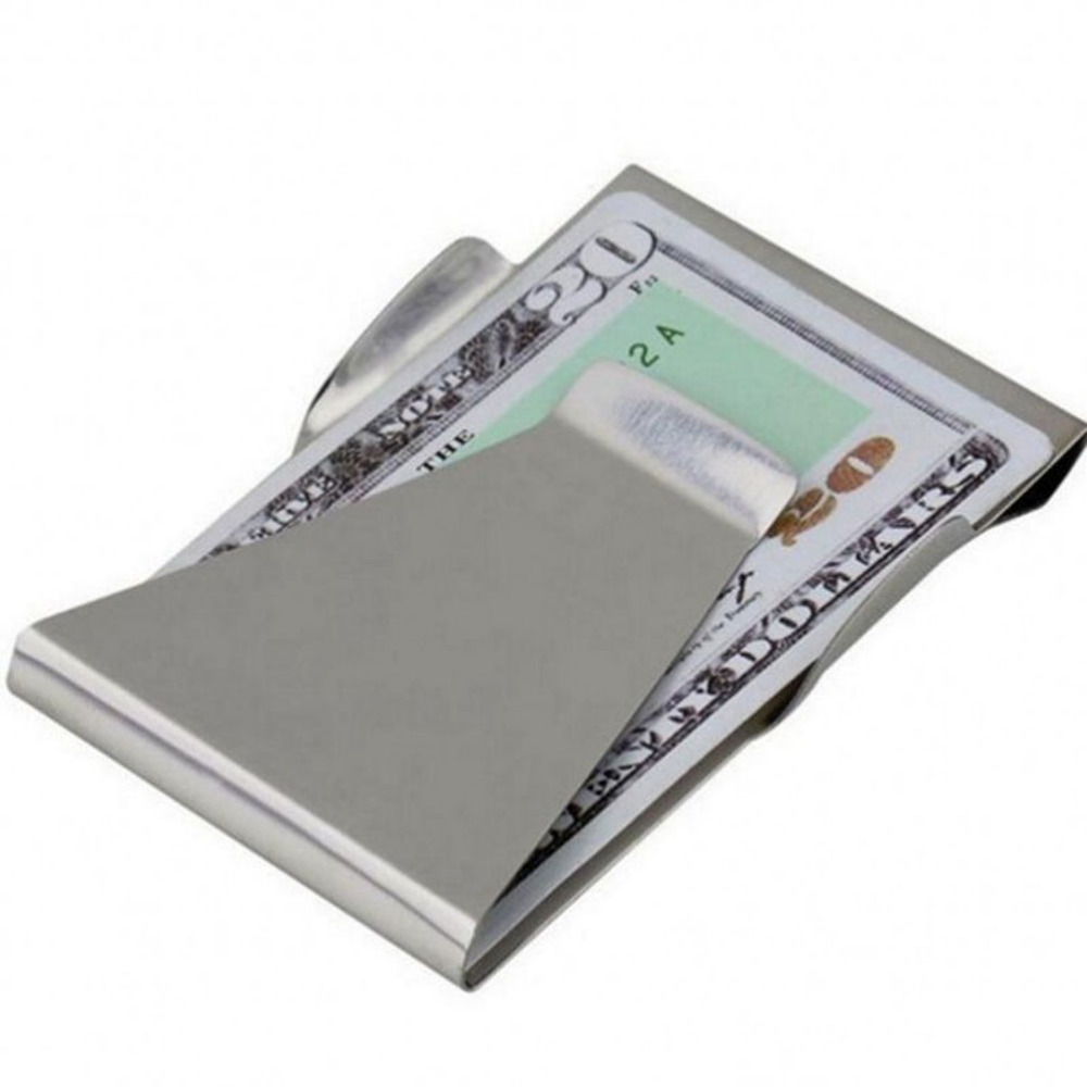 1 StÜcke Bargeld Clip Edelstahl Metall Geld Clip Durable Titan Stahl Clip Für Geld Ein BrüLlender Handel