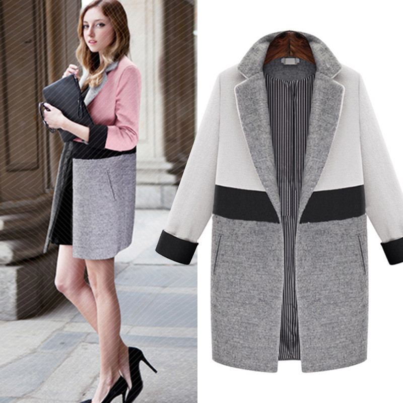 Online Get Cheap Pink Wool Coats for Women -Aliexpress.com ...