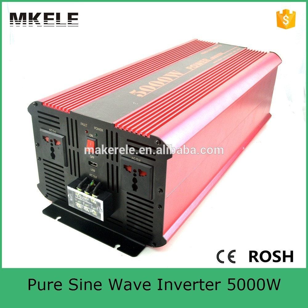 цена на MKP5000-121R off grid 5kw solar inverter 5000w 12vdc to 120vac pure sine wave power inverter for home application