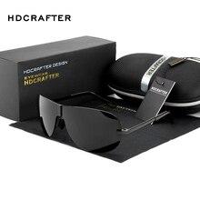 HDCRAFTER Brand Sunglasses for Men 2017 Designer Polarized Driving Sunglasses Sun Glasses Male Oculos de sol masculino Eyewear