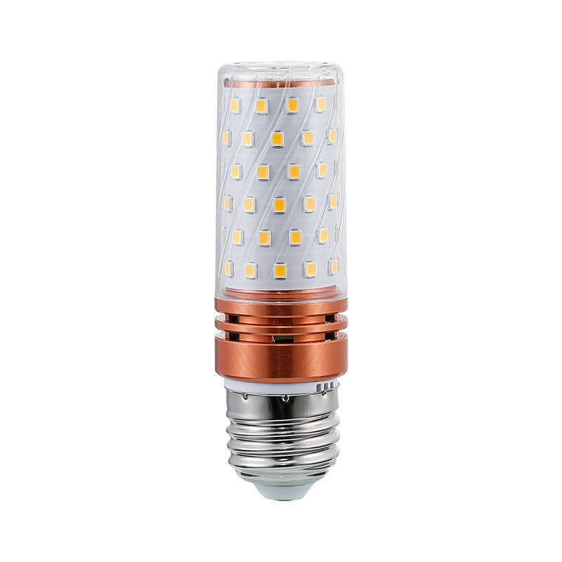 1-10pcs E14 E27 12W 16W LED Corn light Bulb 220V SMD2835 LED Bulb 3 Color Temperatures Integrated LEDs Candle light Spotlight