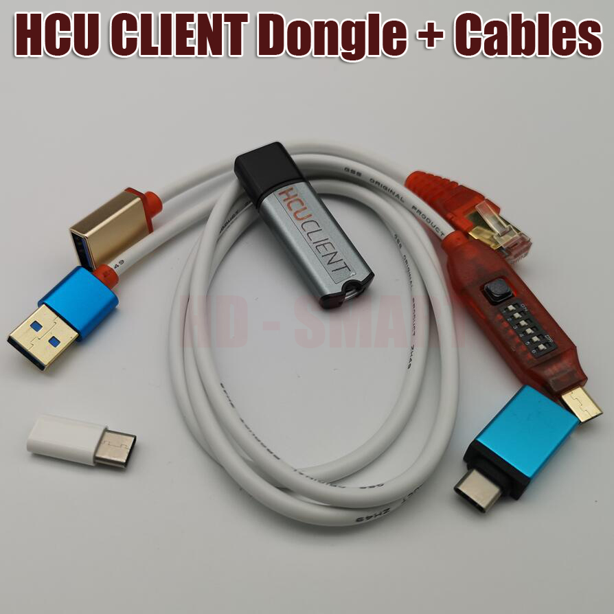 New Version HCU + DC Phoenix Dongle + Multi functional boot all in one cable - 2