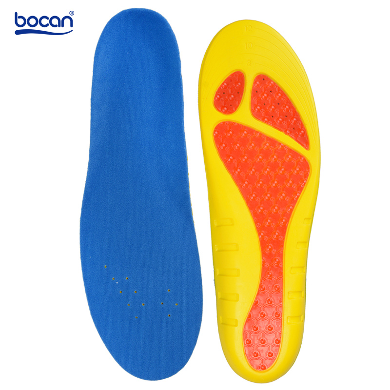 Bocan insoles for shoes shock absorption breathable insoles light weight for men and women shoe inserts bocan gel insoles shock absorption soft