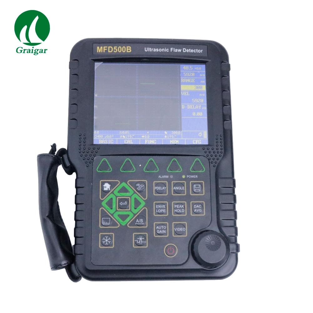 MFD500B Protable Ultrasonic Flaw Detector High resolution Multi color TFT LCD Ultrasonic Flaw Detectors     - title=