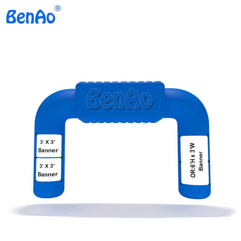 AA080 inflatble finish line,<font><b>inflatable</b></font> race arch/<font><b>inflatable</b></font> start arch,<font><b>Billboard</b></font> Archway for sale image