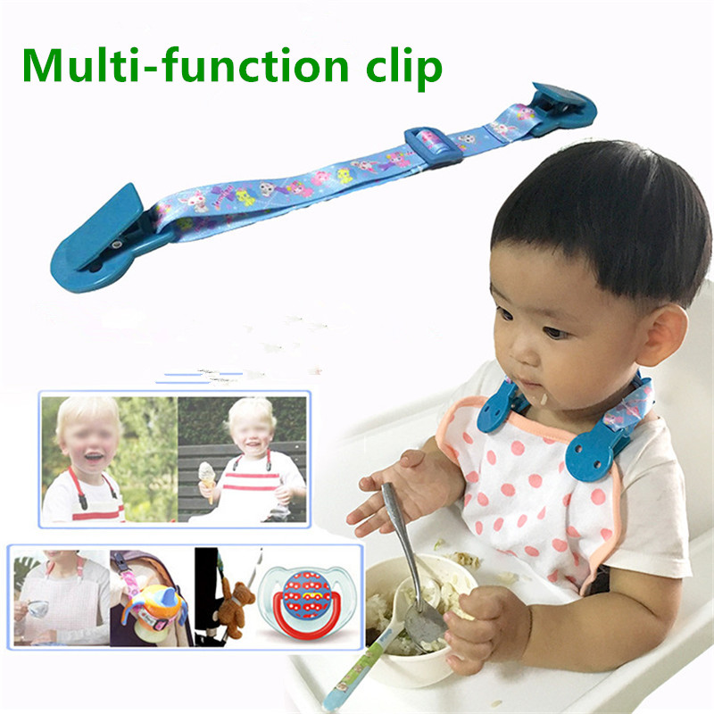 Pacifier Chain Baby Stroller Clip Rope Teethers Pacifiers Bottle Strap Holder Toys Cups Anti-lost Strap B0958