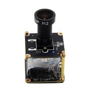 Image 4 - Cámara IP Starlight 1080P H265 Módulo de placa de uso SONY IMX307 Sensor y HI3516EV100 con lente F1.2 4mm envío gratis