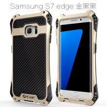 Amira обновления водителя противоударный алюминиевый металлический корпус для Samsung Galaxy S7/S7 Край защитной взрывозащищенного мембрана телефона Чехол