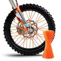 Motocross SPOKE SKINS Wheel RIM SPOKE SHROUDS COVERS For KAWASAKI CRF YZF R3 KX RMZ WR250