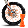Motocross SPOKE SKINS Wheel RIM SPOKE SHROUDS COVERS For KAWASAKI yamaha YZF R3 Suzuki gsx r Ducati Dirt Bike ktm DUKE t max 530