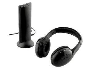 Image 2 - Auriculares MH2001 5 en 1, auriculares inalámbricos de alta fidelidad, TV/ordenador, Radio FM, auriculares con micrófono de alta calidad