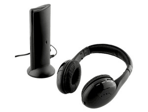 Image 2 - Headsets MH2001 5 in1 HIFI Wireless Headphones TV/Computer FM Radio Earphones High Quality with Microphone
