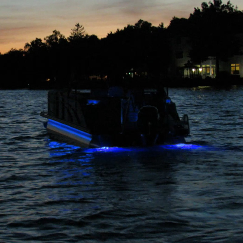 Image 5 - Blue LED Underwater Marine Boat Yacht Light With Stainless Steel Bezel 12V DC-in Marine Hardware from Automobiles & Motorcycles