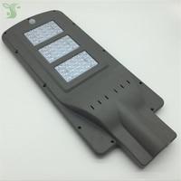 20w 40w 60w LED solar street light Outdoor Waterproof IP65 PIR sensor Smart light changes led light 50mm interface