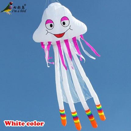 Ree expédition Sports d'amusement en plein air 2015 nouveau logiciel 3D cerf-volant/5 m ligne unique puissance méduse cerf-volant bon vol envoyer ligne de poignée