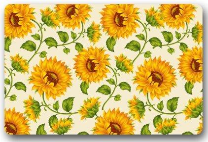Speicher Hause Kühle Schöne Gelbe Sonnenblume Blütenblatt Fußmatte ...