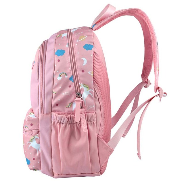 Student Unicorn Print Backpack