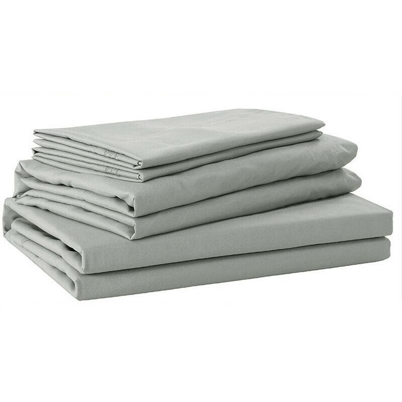 LOT 4 6 Piece Deep Pocket Bed Sheet Set 1800 Count Egyptian Comfort Sheets Set