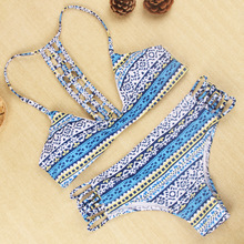 Hot Swimwear Bandage Bikini 2015 Sexy Beach Swimwear Women Swimsuit Bathing Suit Brazilian Bikini Set Biquini Maillot De Bain