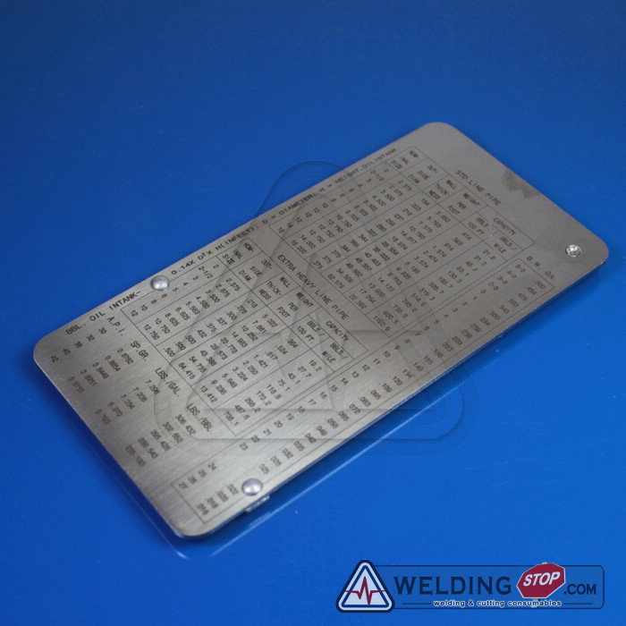 Pipe pit welding gauge gage Test Ulnar Weld Pipeline Concave Inspection ruler metric bridge cam welding gauge mg 8 weld gage inspection ws genuine