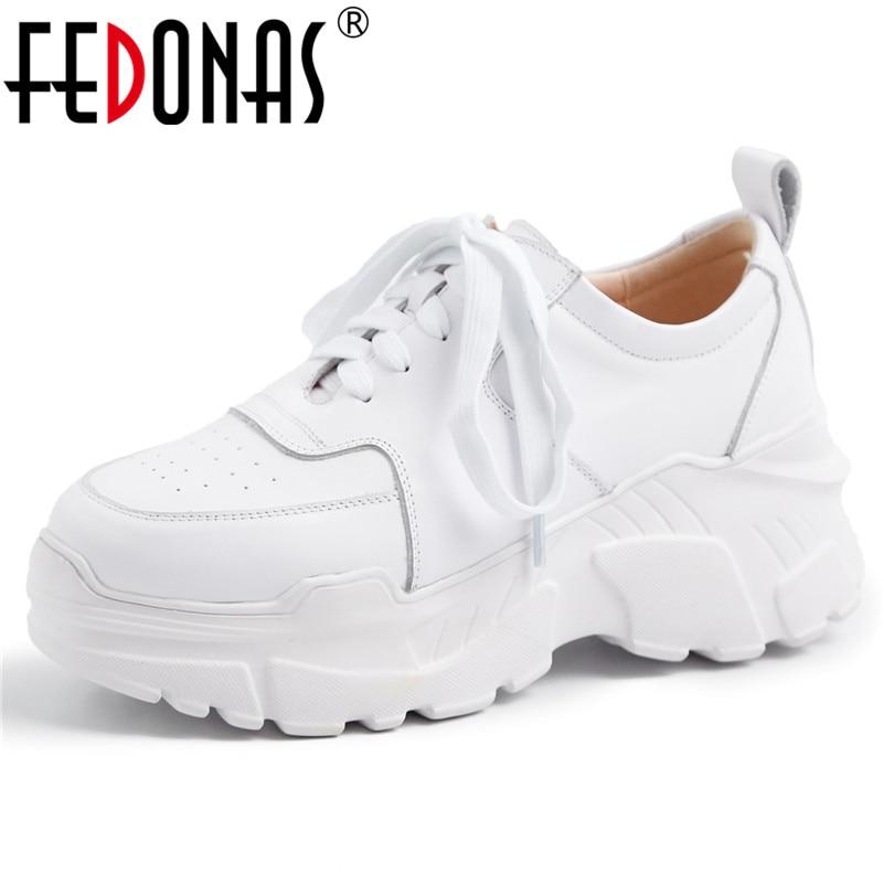 rotonda Lace Ballerine 1 White Tennis Black in Casual pelle vera 2 Donna Fashion Up Punta Scarpe Donna Fedonas paxw6vZq