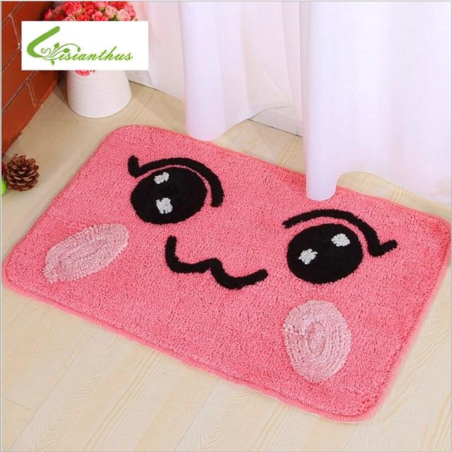 New Arrival 6colors Home Carpet Cartoon Cute Floor Carpets Rugs For Bedroom Bathroom Living Room Mats