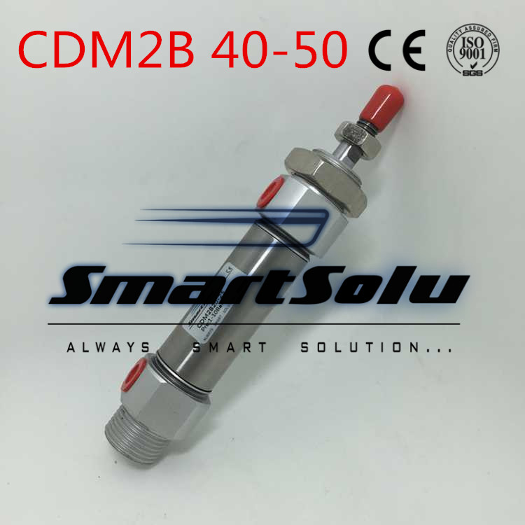 Free Shipping  Type Cylinder CDM2B 40-50 Mini Pneumatic Double Acting 40-50mm Accept custom airtac type cylinder sda 40 40 compact cylinder double acting 40 40mm accept custom