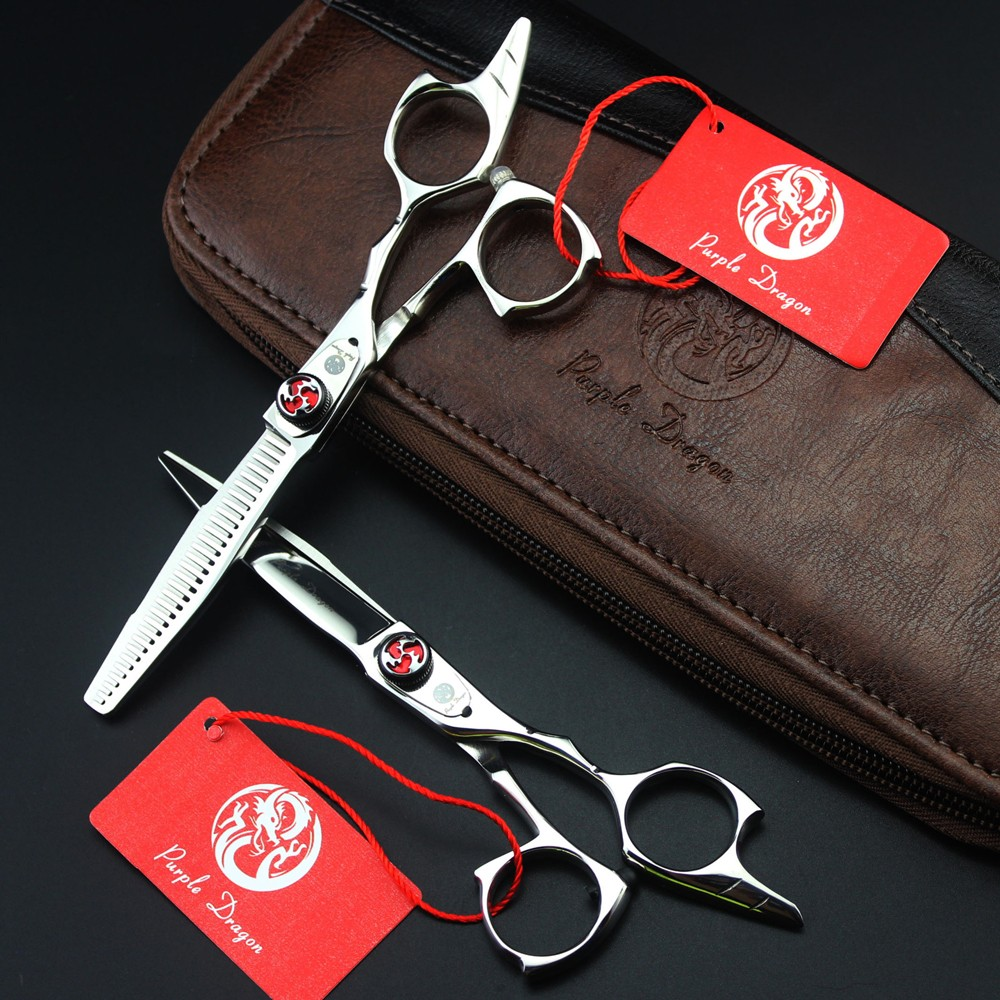 Japan 5.5 Inch High Quality Professional Hairdressing Scissors Set Hair Cutting / Thinning Barber Shears Kit Salon Equipment 6 inch japan kasho cutting scissors professional hair shears for hair salon hairdressing barber high quality sus440c