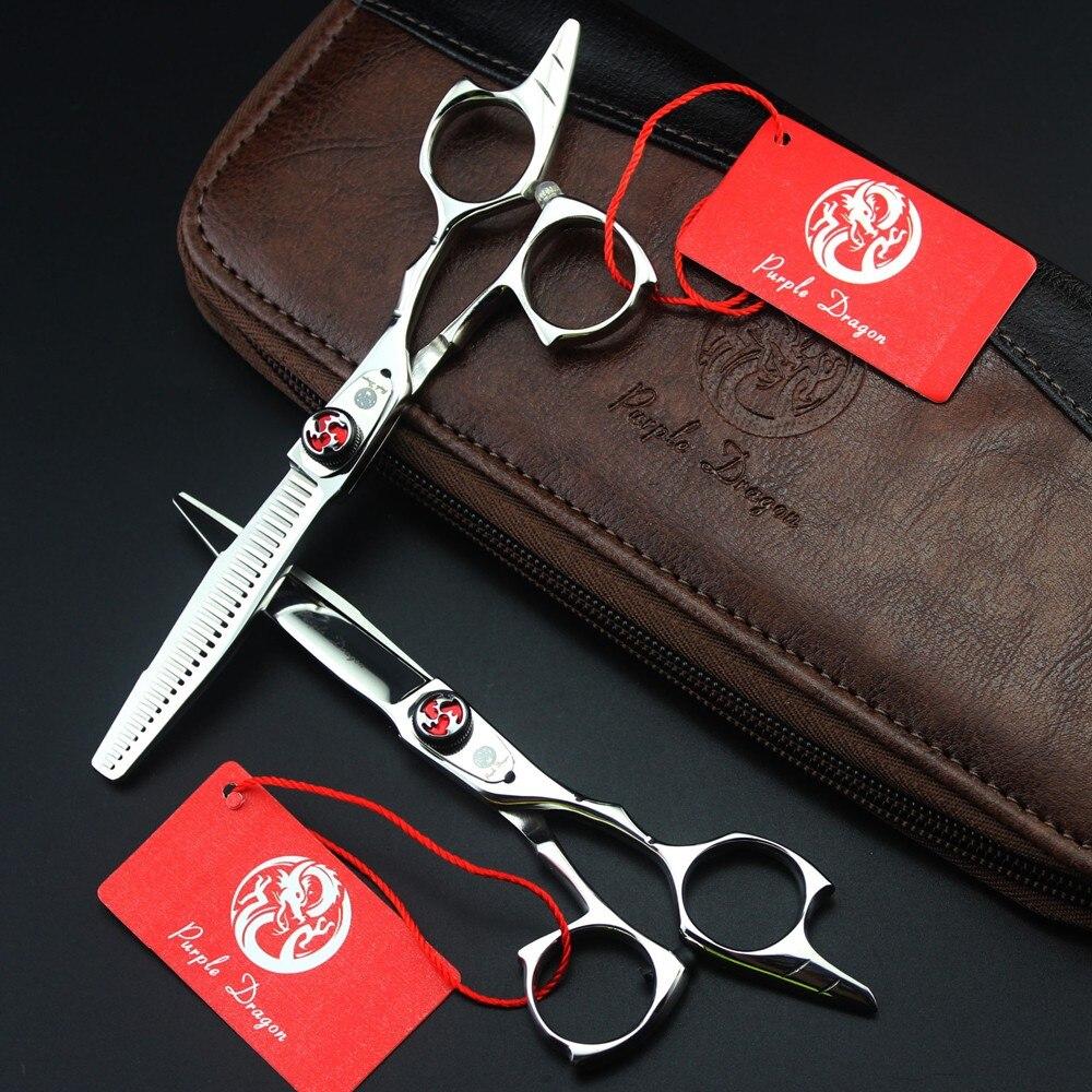 Japonia 5.5 Cal wysokiej jakości profesjonalne nożyczki fryzjerskie zestaw do cięcia włosów/Salon fryzjer przerzedzenie nożyce nożyce do sprzętu w Nożyczki do włosów od Uroda i zdrowie na AliExpress - 11.11_Double 11Singles' Day 1