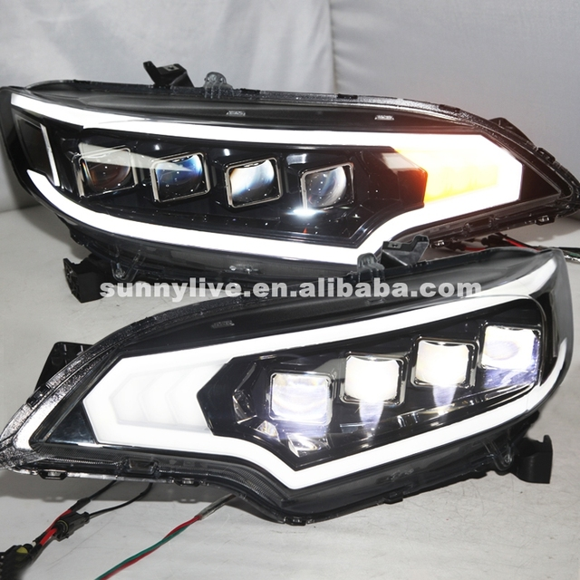 For HONDA Fit Jazz Headlight Full LED Head Lamp 2015 Year