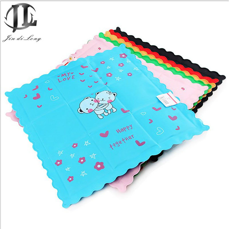lattice pet ice pad lower body temperature to prevent heat stroke mattress pad cartoon leakproof heat