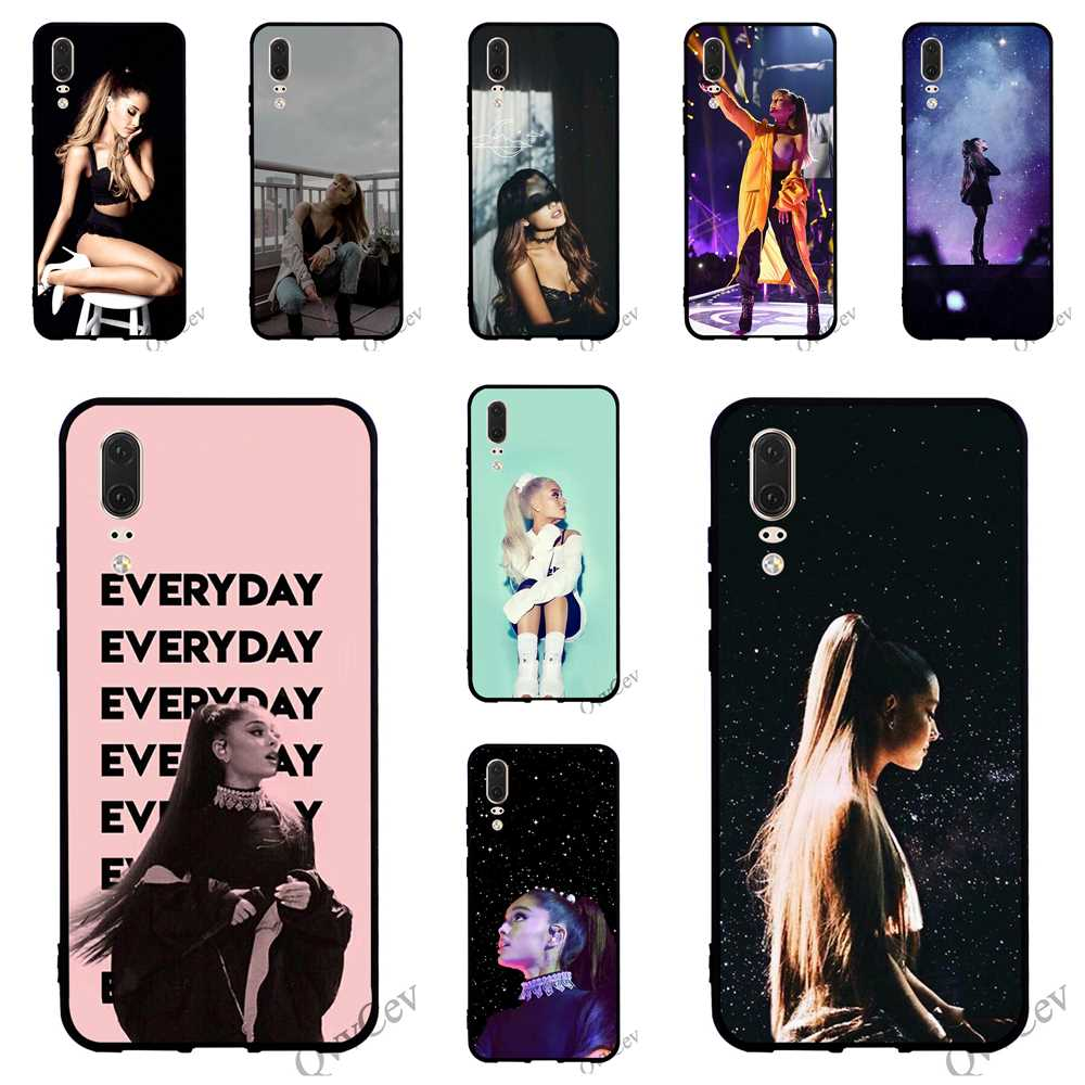 In Colorful Ariana Grande Goddess Glass Phone Case For Redmi Note 6 Pro Cover Xiaomi A1 A2 Mi 9 8 Lite F1 4x 6a 7 7 Backshell Excellent Quality