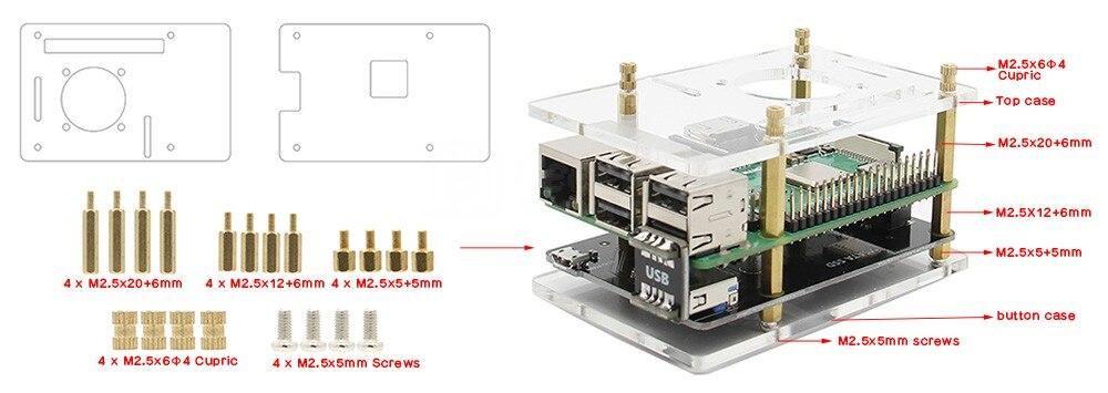 X850 v3.0 acrylic case -main-w800-1000