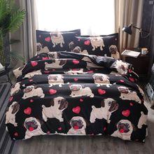 Bullfight The Dog Australia Size Comforter Bedding Sets Dogs Cute Article Three Paper Set Cotton