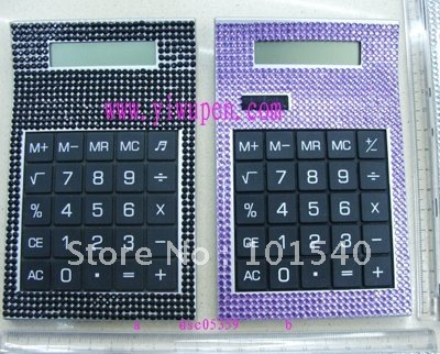 Jeweled calculator/Promotion gift calculator/Crystal  calculator/Bling bling calculator/crystal calculator