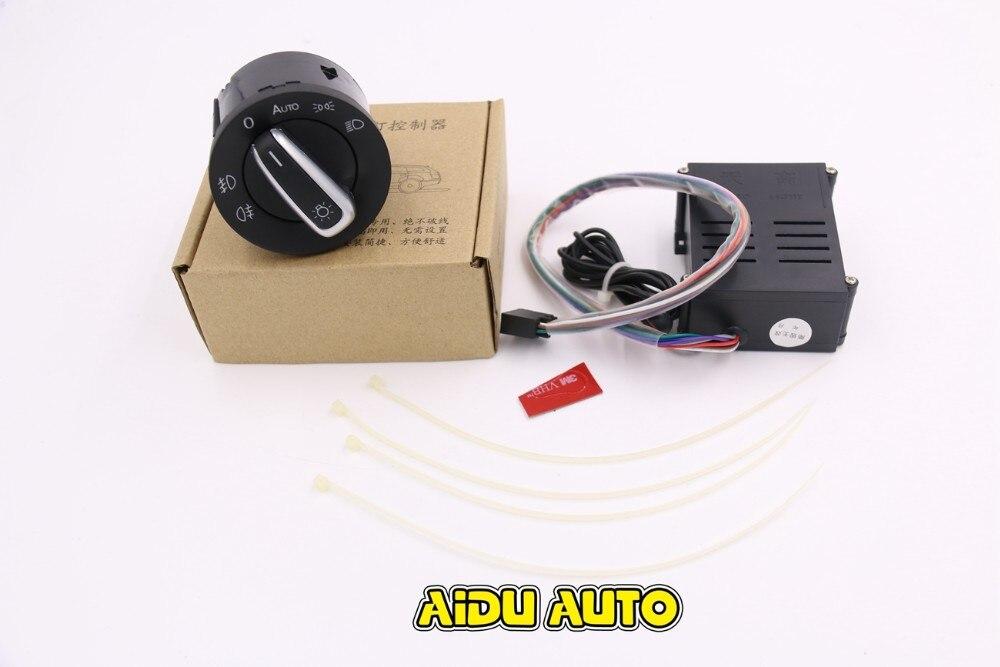 Newest Version VW Auto Headlight font b Light b font Sensor Switch For Golf MK4 4