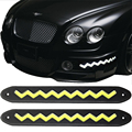 2 pcs W Shape COB 21cm Bendable LED Daytime Running Lights 100% Waterproof DRL Day Time Flexible Car Driving Lamp BJ