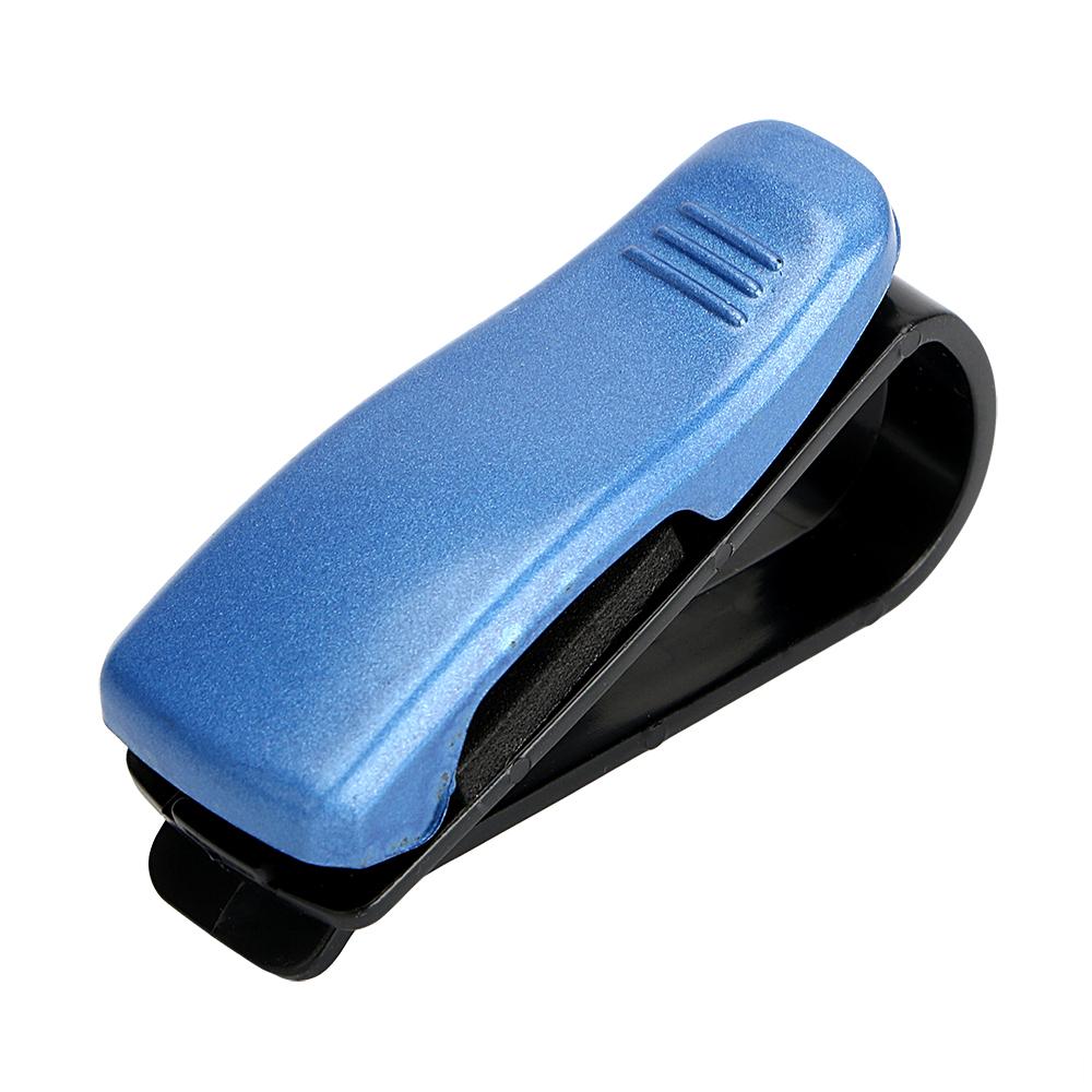 HTB1gH4vSpXXXXc5apXXq6xXFXXXt - Eyeglasses Clip Car Sun Visor Sunglasses Holder Car Glasses Cases Fastener Cip Portable Ticket Card Clamp Car Styling ABS