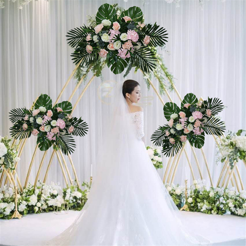 wedding decor luxury Road cited artificial flore rose peony hydrangea mix DIY arched door Flower Row T station Christmas wallwedding decor luxury Road cited artificial flore rose peony hydrangea mix DIY arched door Flower Row T station Christmas wall