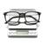 KINGSEVEN 2017 TR90 + Liga da Alta qualidade Óculos de Computador Radiação resistente Anti-Fadiga Óculos de Leitura Armação de Óculos 7008