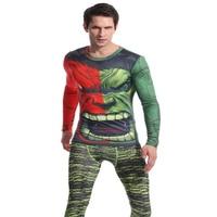 マーベルコミックのスーパーヒーローハルクメンズtシャツフィットネス筋肉フィットtシャツハルクワークアウトトップティー